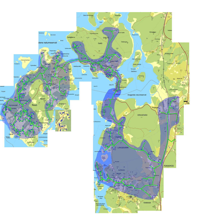 resø sverige kart Karta – Resö Fiber ekonomisk förening resø sverige kart
